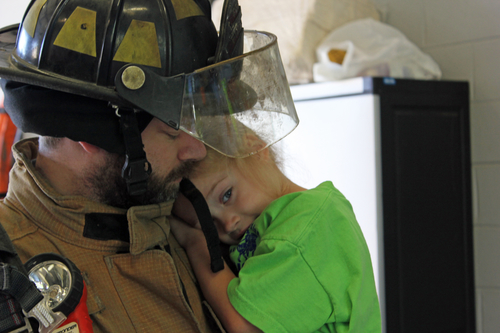 firefighter time away from family